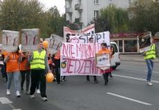 Strajk przeciwko marnowaniu żywności