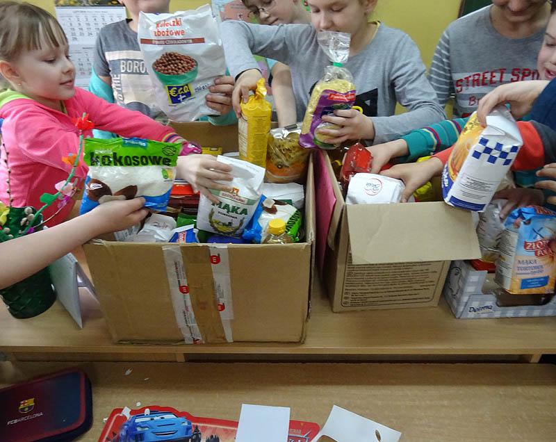 Zbiórka żywności w szkołach zakończona!
