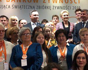 Wolontariusze BŻ nagrodzeni przez Prezydenta Andrzeja Dudę
